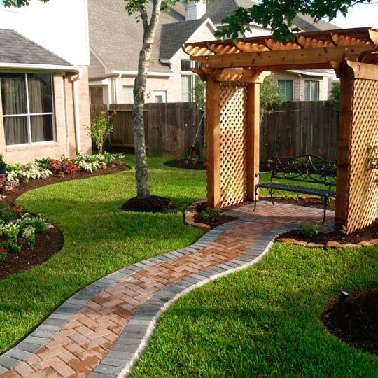 Landscaping In Houston Drainage Awnings Pavers