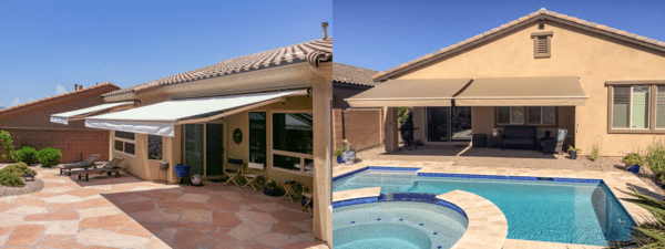 Retractable Tucson XL Patio Awnings Earth Ideas Outdoors ...