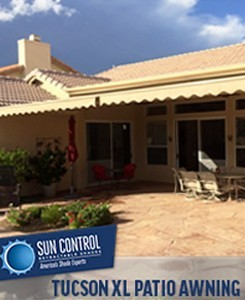 Tucson Xl Patio Awning2 Drainage Awnings Pavers